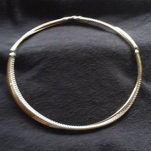 Vintage Yurman collar necklace